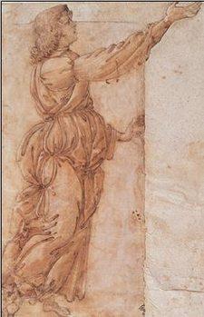 Reprodução do quadro  Angel - Angelo annunciante