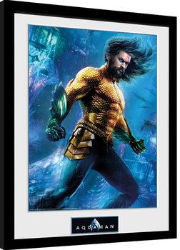 Aquaman - Arthur Curry Poster Emoldurado