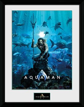 Aquaman - One Sheet Poster Emoldurado