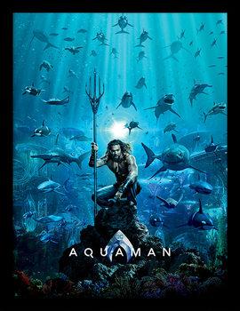 Aquaman - Teaser Poster Emoldurado