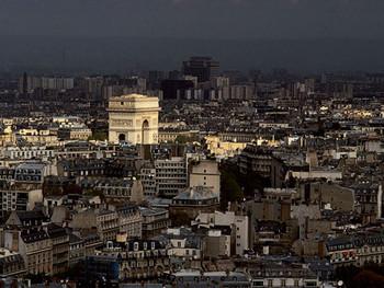 Reprodução do quadro Arc De Triomphe