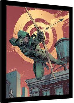 Arrow - Target Poster Emoldurado