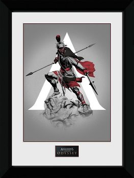 Assassins Creed Odyssey - Graphic Poster Emoldurado