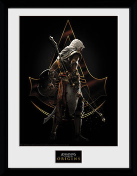 Assassins Creed: Origins - Assassin Poster Emoldurado