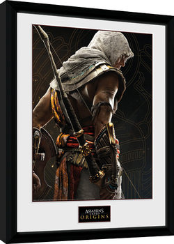 Assassins Creed Origins - Synchronization Poster Emoldurado