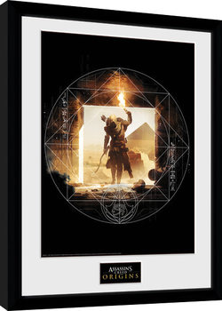 Assassins Creed: Origins - Wanderer Poster Emoldurado