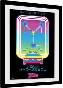 Back To The Future - Flux Capacitor Poster Emoldurado
