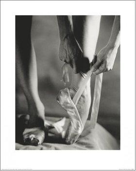 Reprodução do quadro Ballet Shoes
