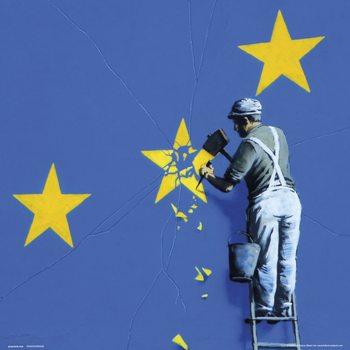 Reprodução do quadro Banksy - Dover