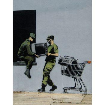 Reprodução do quadro  Banksy - Looters Masters