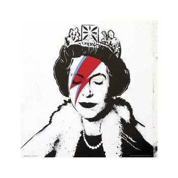 Reprodução do quadro  Banksy - Queen Bowie