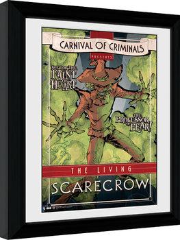 Batman Comic - Circus Scarecrow Poster Emoldurado