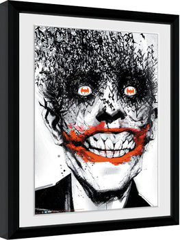 Batman Comic - Joker Poster Emoldurado