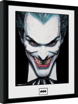 Batman Comic - Joker Smile Poster Emoldurado
