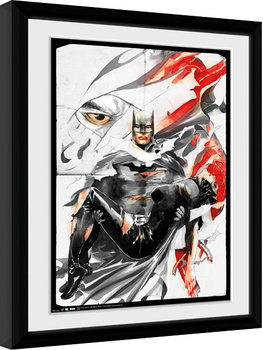 Batman Comic - Rip Poster Emoldurado