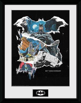 Batman - Comic Rip Poster Emoldurado