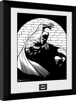 Batman Comic - Spotlight Poster Emoldurado