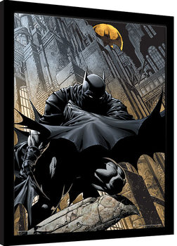 Batman - Night Watch Poster Emoldurado