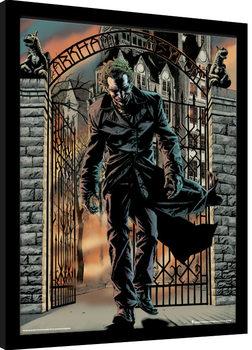Batman - The Joker Released Poster Emoldurado