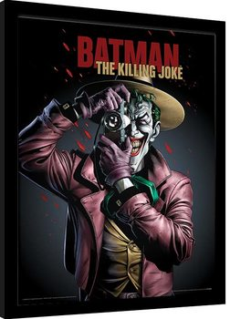 Batman - The Killing Joke Cover Poster Emoldurado