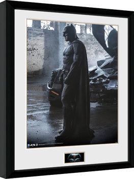 Batman Vs Superman - Batman Poster Emoldurado
