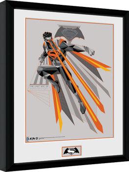 Batman Vs Superman - Eyes Poster Emoldurado