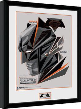 Batman Vs Superman - Volatile Poster Emoldurado