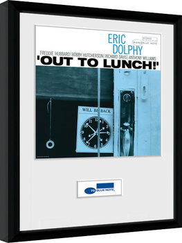 Blue Note - Dolphy Poster Emoldurado