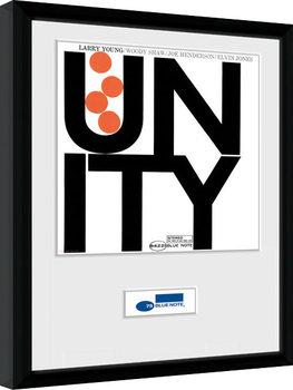 Blue Note - Unity Poster Emoldurado