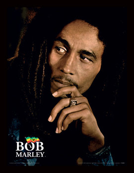 Bob Marley - Legend Poster Emoldurado
