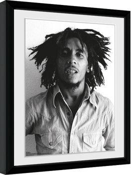 Bob Marley - One Love Poster Emoldurado