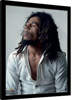 Bob Marley - Redemption Poster Emoldurado