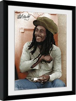 Bob Marley - Rolling Poster Emoldurado