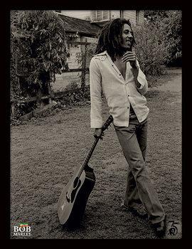 Bob Marley - Vintage Poster Emoldurado