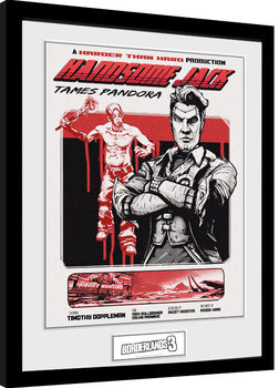 Borderlands 3 - Handsome Jack Poster Emoldurado