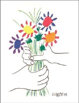 Reprodução do quadro Bouquet
