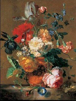 Reprodução do quadro  Bouquet of Flowers