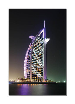 Quadro  Burj Al Arab at night