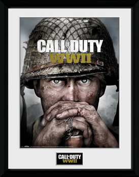 Call Of Duty: Stronghold - WWII Dogtags Poster Emoldurado