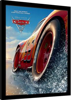 Cars 3 - Beach Poster Emoldurado
