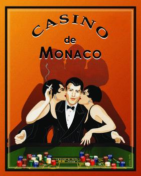 Reprodução do quadro  Casino de Monaco