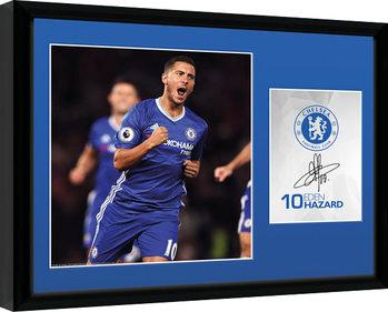 Chelsea - Hazard 16/17 Poster Emoldurado