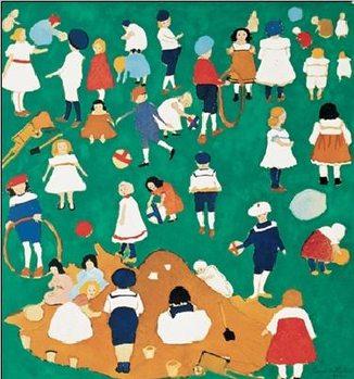 Reprodução do quadro Children