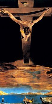 Reprodução do quadro  Christ of Saint John of the Cross, 1951