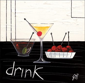 Reprodução do quadro Cocktail (Drink)