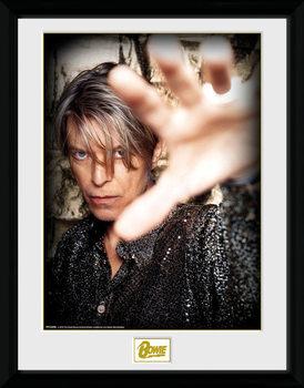 David Bowie - Hand Poster Emoldurado