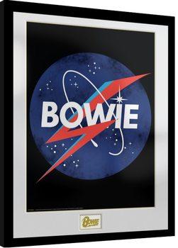 David Bowie - NASA Poster Emoldurado