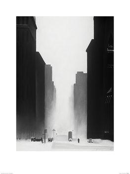 Reprodução do quadro David Cowden - The Big City