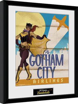 DC Comics - Batgirl Bombshells Poster Emoldurado