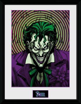 DC Comics - Joker Insane Poster Emoldurado